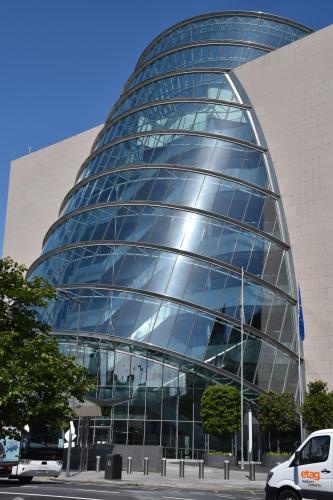 Здание конгресс холла в Дублине, где проходили заседания ИНКВА. Фото С.И.Ларин.