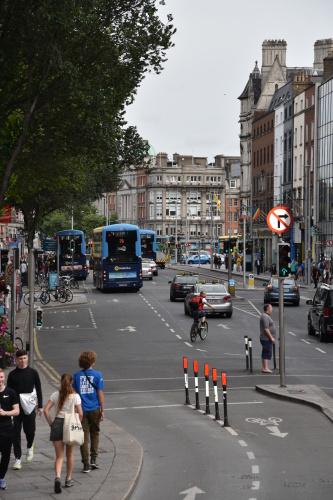 На одной из улиц Дублина. Фото С.И. Ларин.
